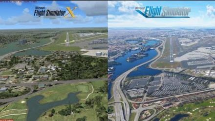 vidéo : Airport Scenery FSX vs. FS2020 | Microsoft Flight Simulator 2020