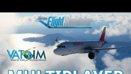 vidéo : ATSIM - Online Multiplayer ATC Flying Network Preview
