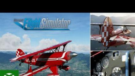 vid�o : Microsoft Flight Simulator - Planes and Airports Trailer