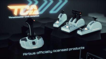 Vidéo : Thrustmaster lance sa gamme dédiée à Flight Simulator avec Airbus