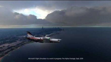 vidéo : NEW MICROSOFT FLIGHT SIMULATOR 2020 - Pre Alpha Footage - September 30 2019