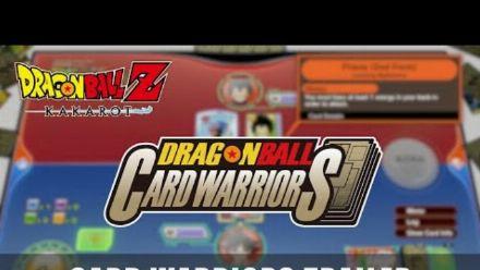 vidéo : Dragon Ball Z Kakarot : Bande-annonce des Card Warriors (en Anglais)