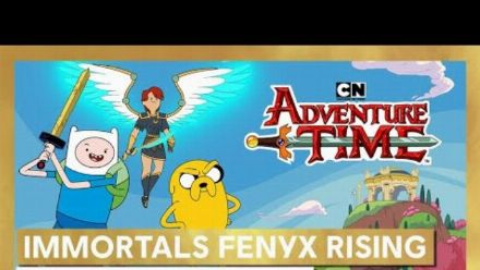 Vid�o : Immortals Fenyx Rising : Bande-annonce Adventure Time