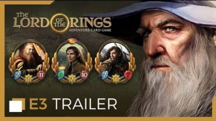 Vid�o : E3 2019 : The Lords of the Rings : Adventure Card Game en vidéo