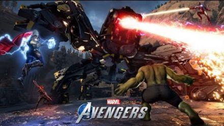 Vidéo : Bande-annonce de Marvel's Avengers : War Zones en co-op