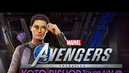 Vid�o : Marvel's Avengers: Kate Bishop - Taking AIM Trailer