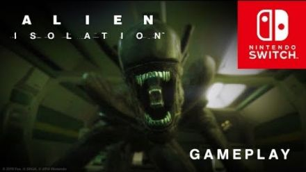 Vid�o : Alien: Isolation for Nintendo Switch - Gameplay and Content revealed