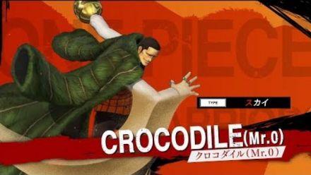vidéo : One Piece Pirate Warriors 4 : Trailer de Crocodile #1