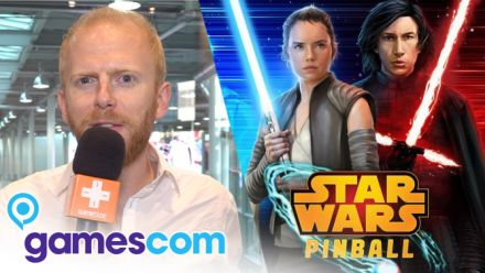 Vid�o : Gamescom 2019 : On a joué à Star Wars Pinball sur Switch