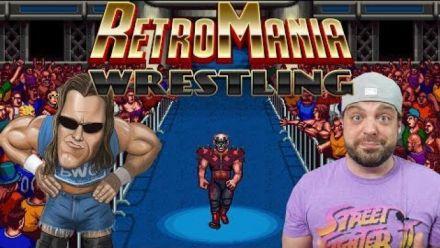 Vid�o : RetroMania Wrestling : Trailer d'annonce sur Switch