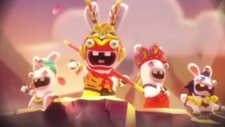Vid�o : Rabbids meets Journey to the West : Trailer d'annonce