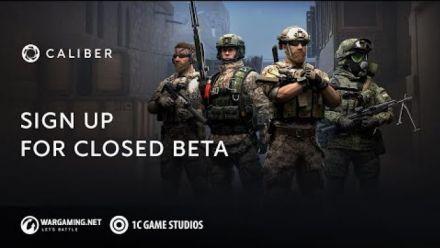 Vid�o : Caliber: Closed Beta Coming Soon