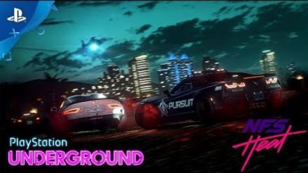Vid�o : Need for Speed Heat : 30 minutes de gameplay PlayStation Underground