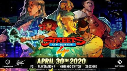 Streets of Rage 4 : Bande-annonce date de sortie