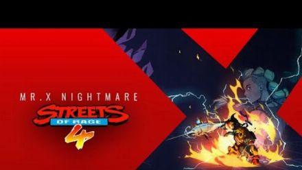 Vid�o : Streets of Rage 4 : Bande-annonce du DLC Mr. X Nightmare