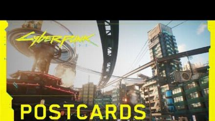 Cyberpunk 2077 - Carte postale de Night City