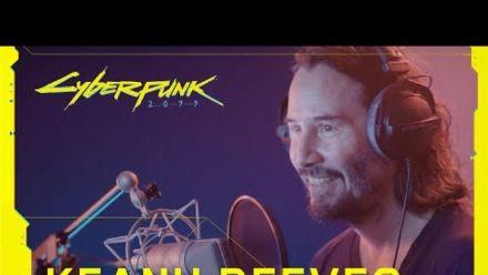 0:04 / 4:31  MakeGIF Cyberpunk 2077 - Dans les coulisses : Keanu Reeves