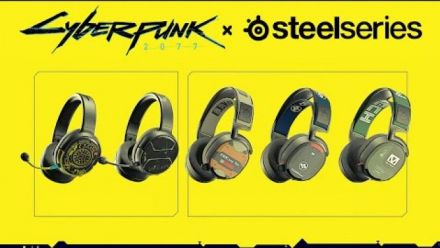 The Official Headset of Cyberpunk 2077: SteelSeries Arctis 1 Wireless