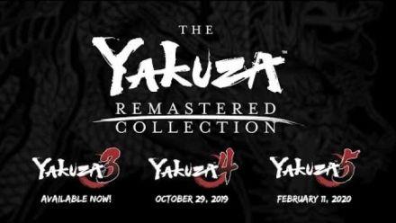 Vidéo : The Yakuza Remastered Collectio : trailer d'annonce