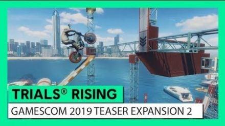 Vid�o : TRIALS RISING - GAMESCOM 2019 TEASER DLC2 CRASH&SUNBURN