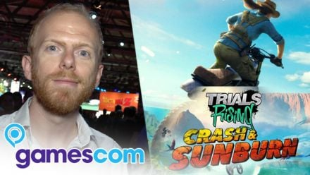 Gamescom 2019 : Nos impressions sur Trials Rising Crash and Sunburn en... Alpaga