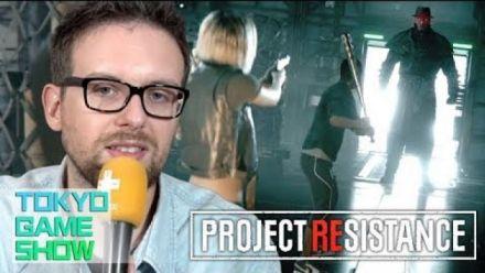 Vid�o : TGS 2019 : On a joué à Project REsistance, la nouvelle curiosité de Capcom