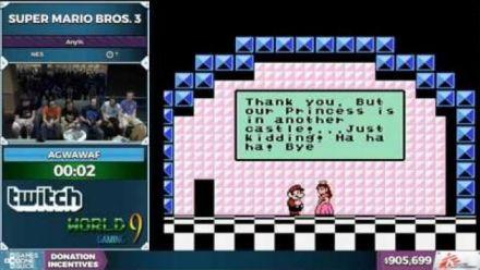 Vidéo : Un robot termine Mario 3 en 3 secondes