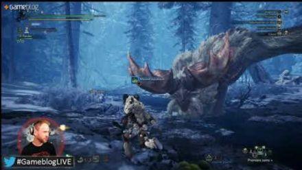 #GameblogLIVE : On vous présente Monster Hunter World Iceborne (REPLAY)