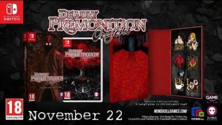 Vid�o : Deadly Premonition Origins : Trailer de l'édition Collector