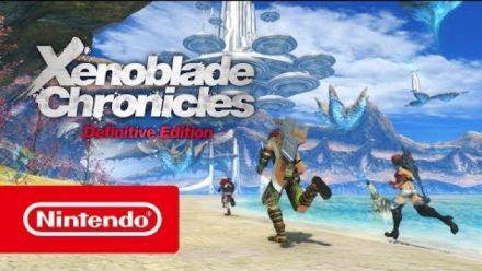 Vid�o : Xenoblade Chronicles Definitive Edition : Trailer de sortie