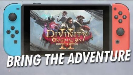 Vid�o : Divinity: Original Sin 2 Definitive Edition - Nintendo Switch Announcement Trailer