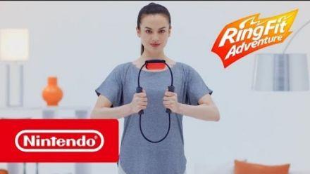 Vid�o : Ring Fit Adventure - Vidéo de présentation (Nintendo Switch)