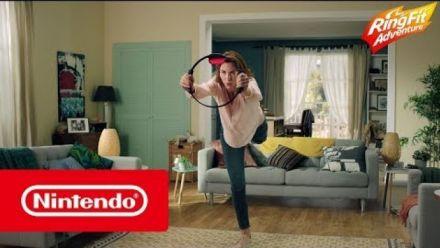 Vid�o : Ring Fit Adventure : Bande-annonce de lancement