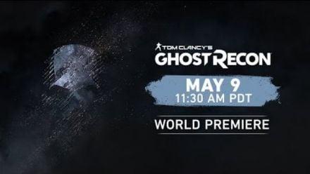 Vid�o : Ghost Recon Reveal 9 mai 2019