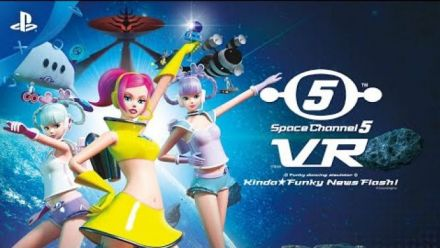 Space Channel 5 VR : Kinda Funky News Flash! : trailer de lancement
