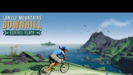 Lonely Mountains: Downhill - Eldfjall Island DLC Trailer