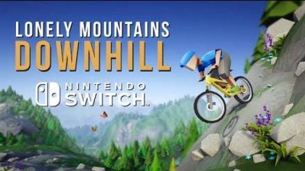 Lonely Mountains Downhill : Trailer date de sortie Switch