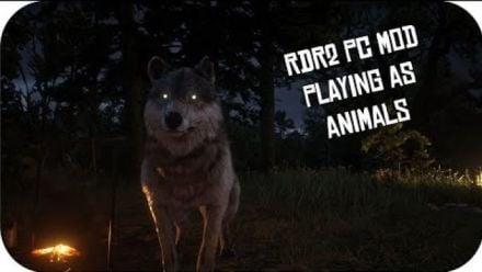 Red Dead Redemption II : jouer un animal (VIDÉO DE cad5150)