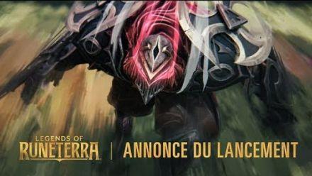 vidéo : Legends of Runeterra : annonce de lancement & bande-annonce