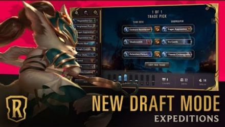 Vidéo : Expeditions Explained | New Draft Mode Overview Trailer | Legends of Runeterra