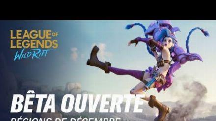 Vid�o : Bêta ouverte : nouvelles régions en décembre | League of Legends: Wild Rift