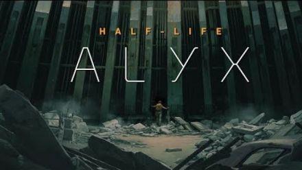 vidéo : Half-Life Alyx : Plus d'une heure de gameplay avec le Valve Index (4K/60fps)