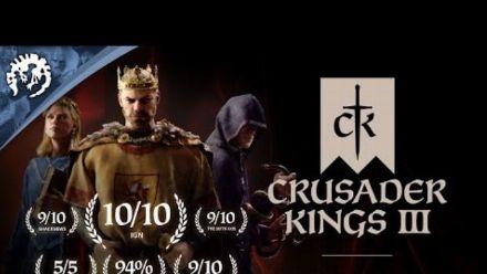 Vid�o : Crusader Kings III - Release Trailer