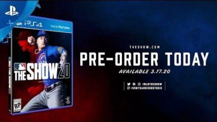 Vidéo : MLB The Show 20 : Annonce date de sortie Trailer
