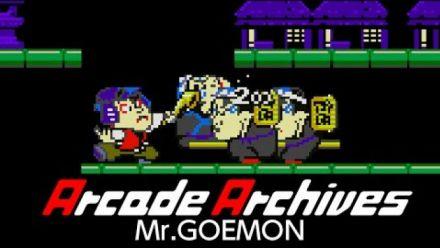 Vid�o : Mr. Goemon : Trailer Arcade Archive