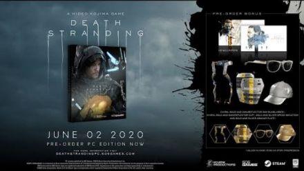 Death Stranding : Trailer date de sortie sur PC