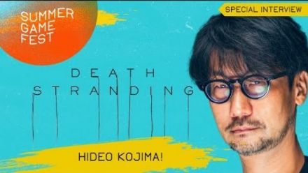 Hideo Kojima Special Interview about Death Stranding PC (Summer Game Fest)