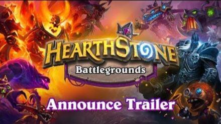 Vidéo : Hearthstone Battlegrounds Announce Trailer