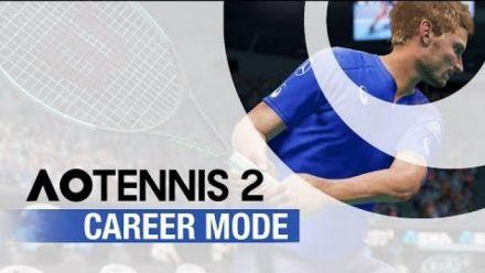 vidéo : AO Tennis 2 : Mode Carrière narratif dévoilé