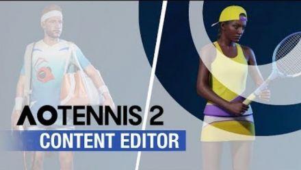 vidéo : AO Tennis 2 Trailer Editeur de contenu